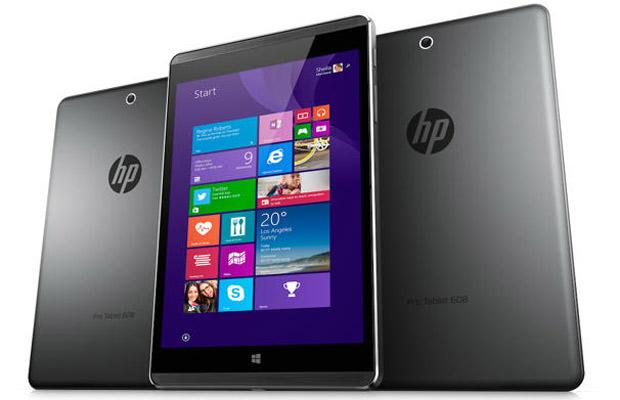 Планшет HP Pro Tablet 608 будет поставляться с Windows 10