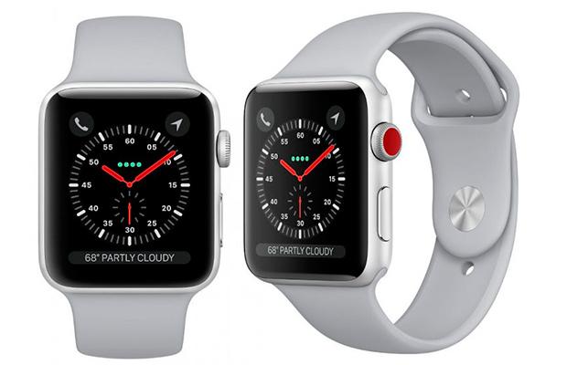 Apple представила «умные» часы споддержкой мобильной связи