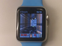Эпический шутер Doom умудрились запустить на Apple Watch и Apple TV