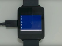 На смарт-часах LG G Watch запустили Windows 7