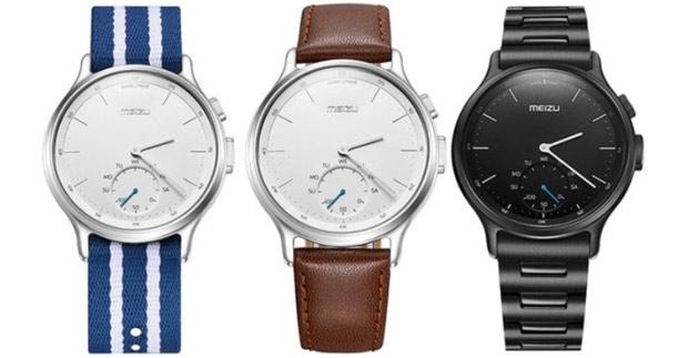 Анонс Meizu Mix— умные часы сострелками