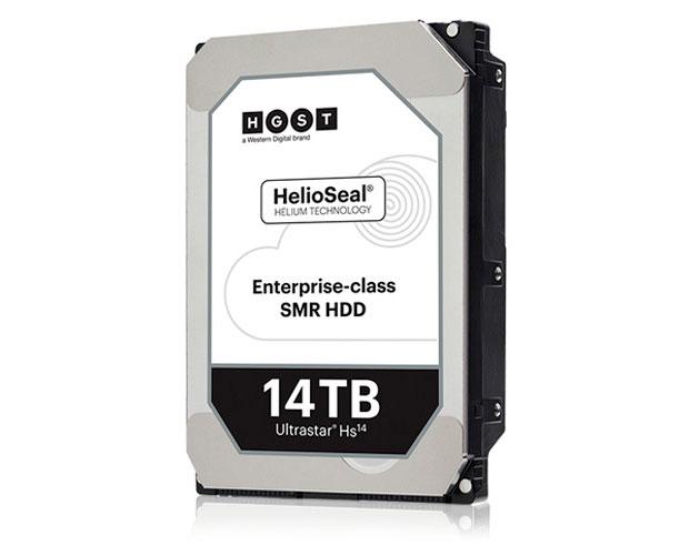 HGST выпускает 14-терабайтный жесткий диск Ultrastar Hs14