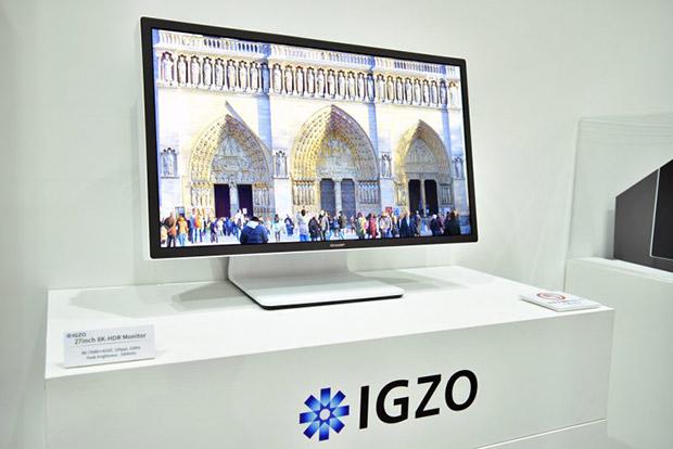 Sharp анонсирует IGZO дисплей с разрешением 1,000 пикселей на дюйм