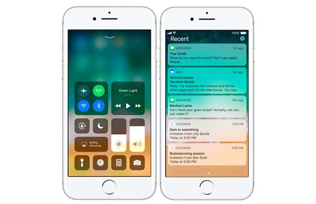 Винтернете появились изображения iPhone 8 сiOS 11