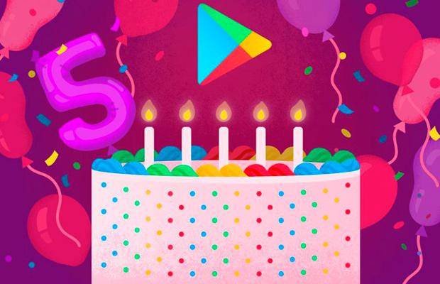 Магазину Google Play исполнилось 5 лет
