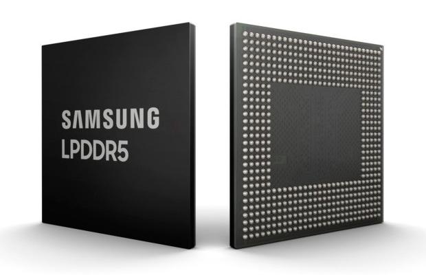 В Samsung созданы первые в отрасли чипы LPDDR5 DRAM для 5G-смартфонов