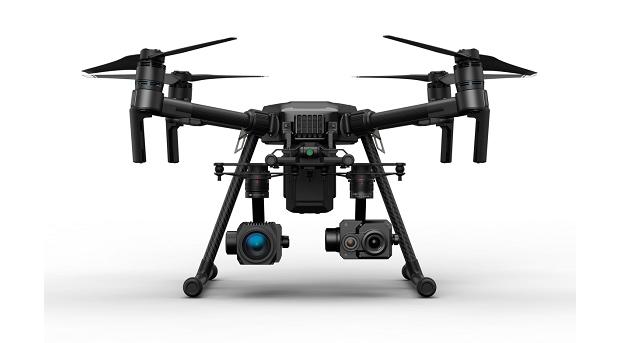 DJI Zenmuse XT2: камера степловизором для беспилотников