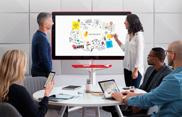 Jamboard отGoogle— 55-дюймовый моноблок для офиса