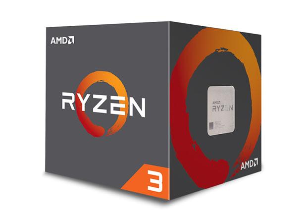Процессоры AMD Ryzen 3 поступили в продажу