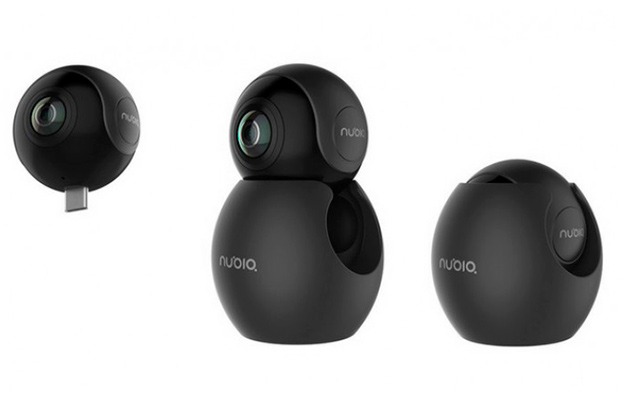 ZTE назвала цену свежей VR-камеры Nubia NeoAir