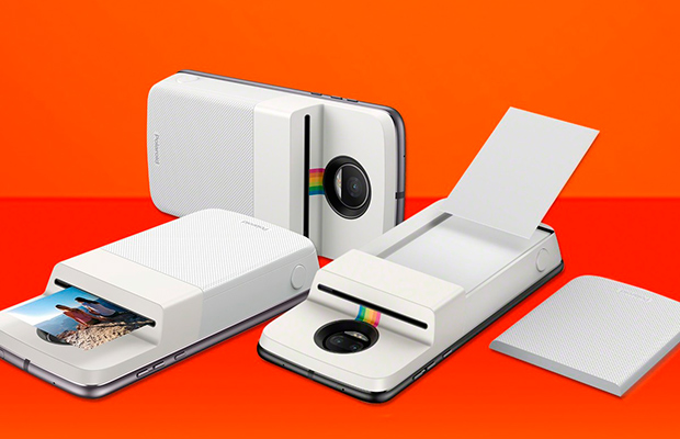 Polaroid и Motorola выпустили Insta-Share Printer Moto Mod