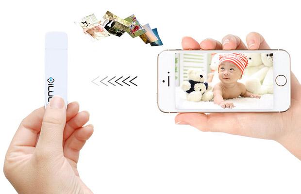 ILuun Air: первая в мире беспроводная флешка для техники Apple