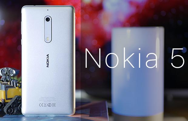 Обзор металлического бюджетника Nokia 5