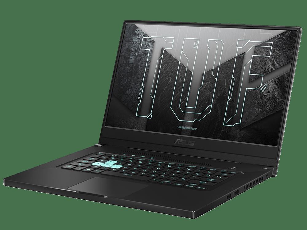 Asus представила тонкий и легкий игровой ноутбук TUF Dash F15