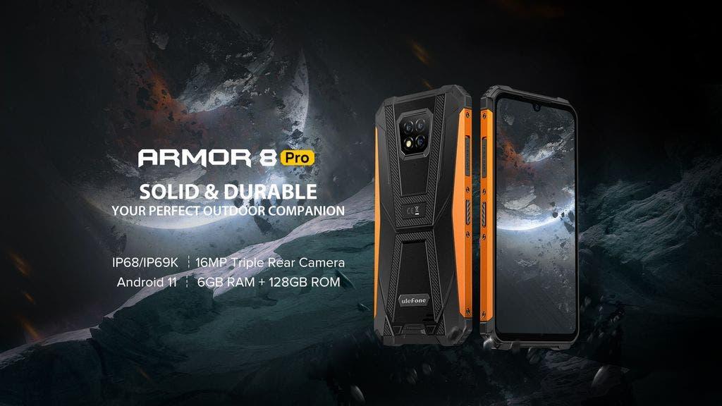 Представлен защищенный смартфон Ulefone Armor 8 Pro