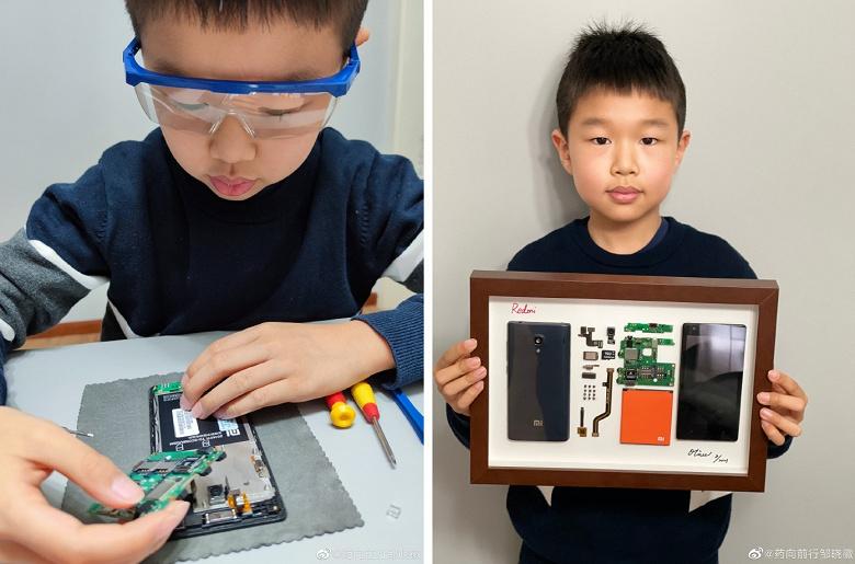 Девятилетний мальчик показал, что можно сделать со старым смартфоном Xiaomi