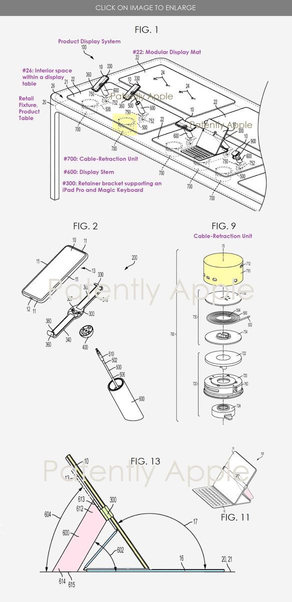 Apple запатентовала систему защиты от ограблений магазинов