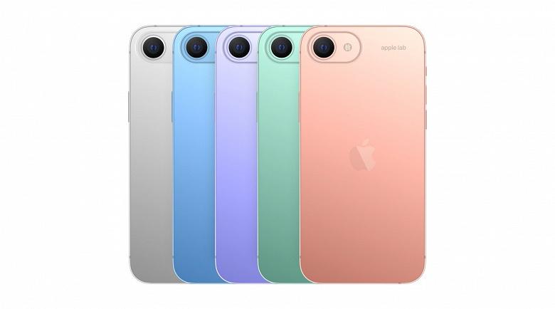 Опубликованы рендеры смартфона iPhone SE следующего поколения