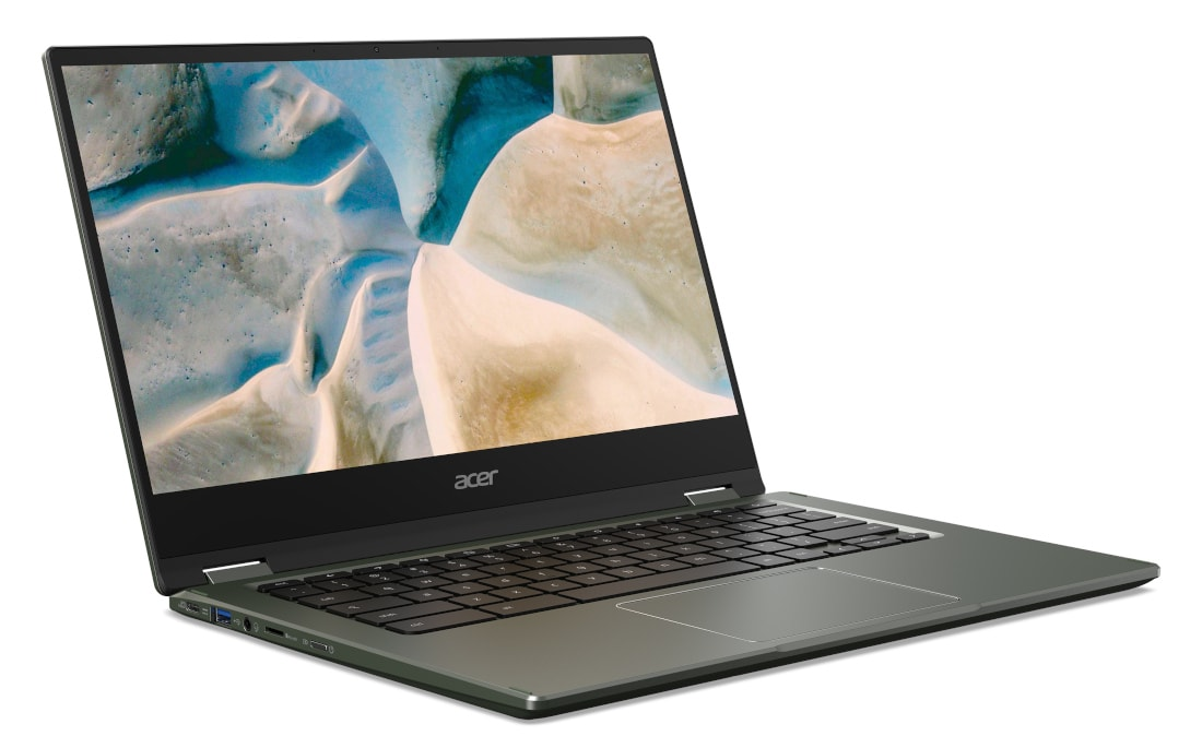 Представлен ноутбук Acer Chromebook Spin 514 с металлическим корпусом и процессорами AMD Ryzen 3000 C-Series