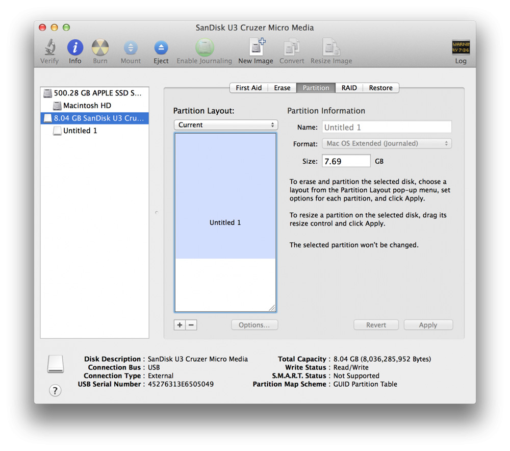 Как создать загрузочную USB-флешку с OS X Yosemite - ЭКОНОМИК ЮА