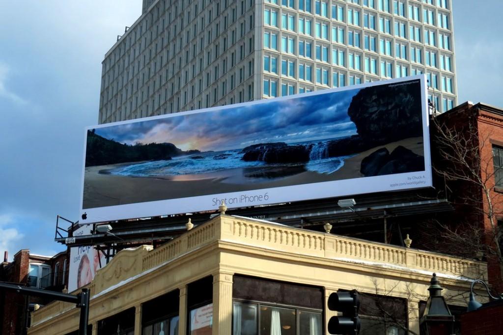 Apple украсит здания по всему миру