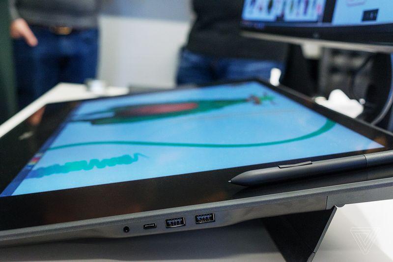 CES 2017: Dell показала ультратонкий 27-дюймовый монитор 27 Ultrathin (S2718D)