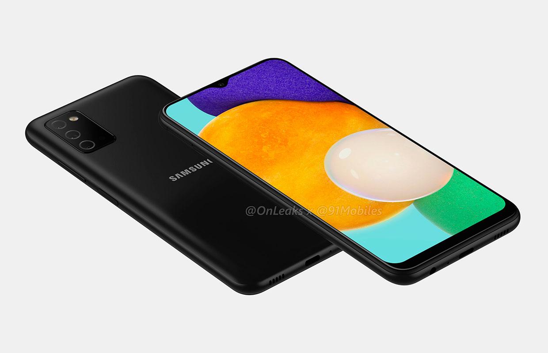 Опубликованы рендеры смартфона Samsung Galaxy A03s