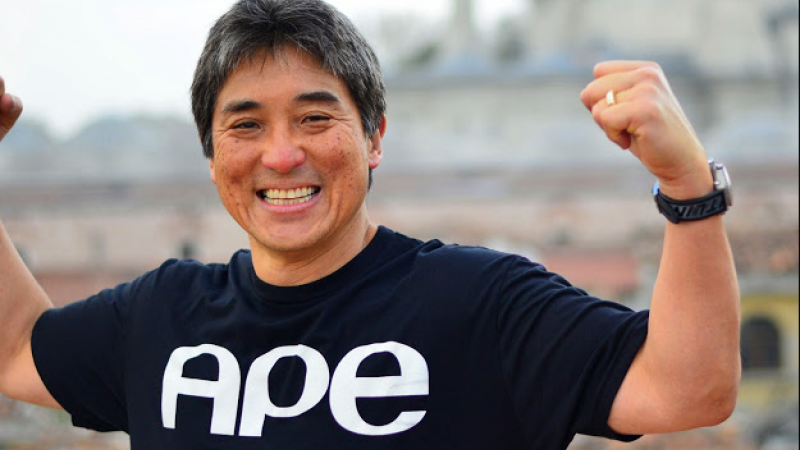 guy kawasaki After three decades in silicon valley, guy kawasaki's resume is extensive, impressive, and eclectic: pioneering evangelist at apple, venture capitalist, tech entrepreneur, author, in-demand speaker, social-network maven.