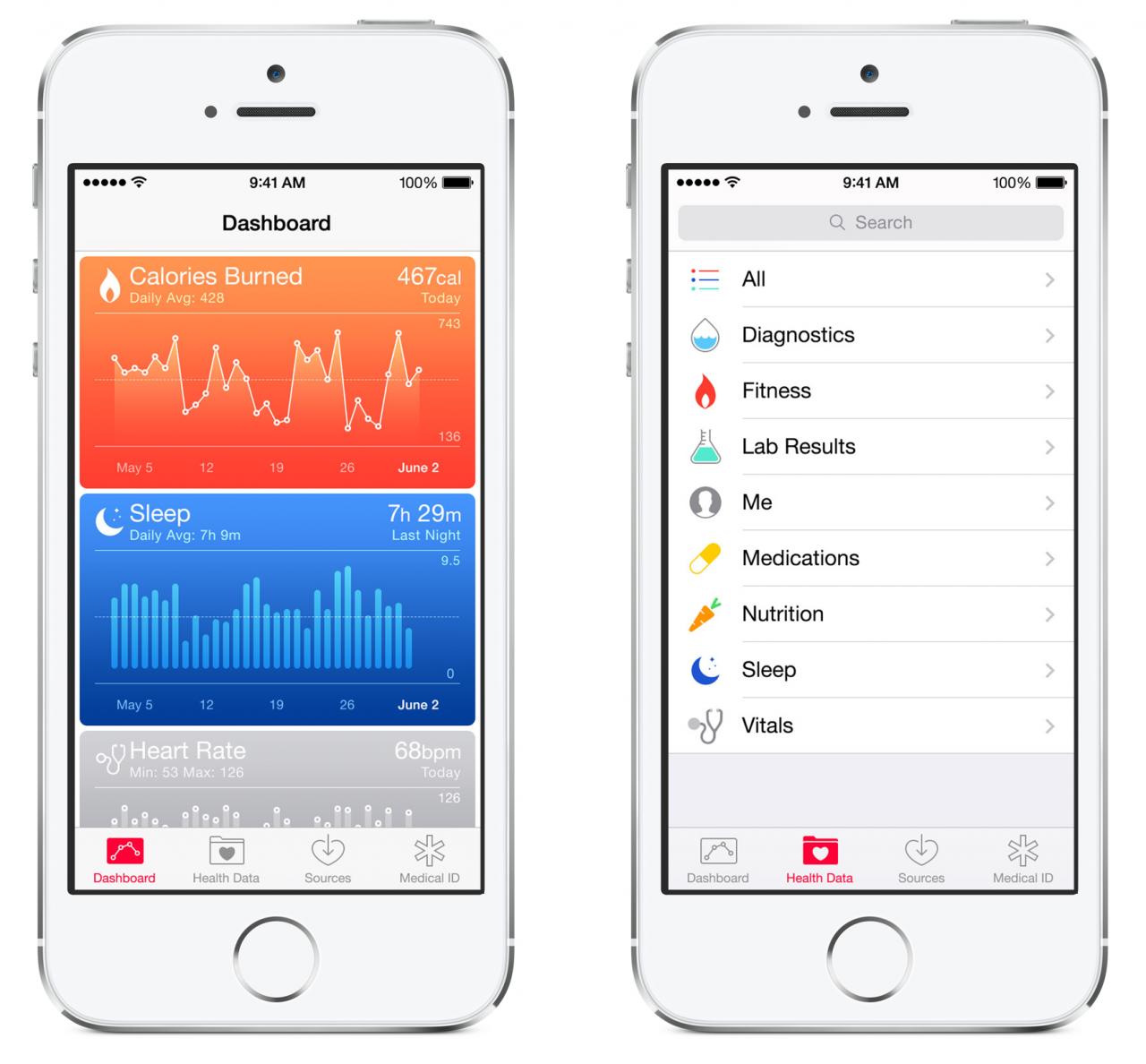 Health(1) 10 особенностей iOS 8, которых не хватает Android