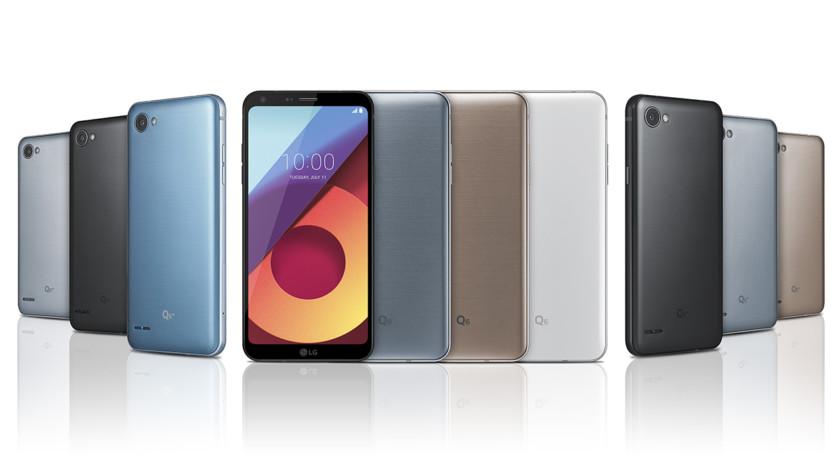 Мобильные телефоны LGQ6: экран FullVision исредние характеристики