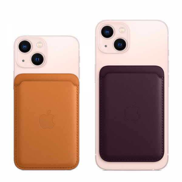 Для iPhone 12 и iPhone 13 выпущен аксессуар iPhone Leather Wallet with MagSafe