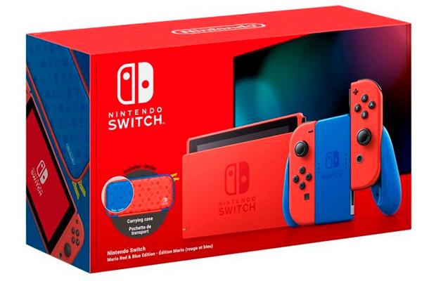 Представлена приставка Nintendo Switch Super Mario Limited Edition