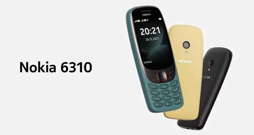 Представлен обновленный кнопочный телефон Nokia 6310