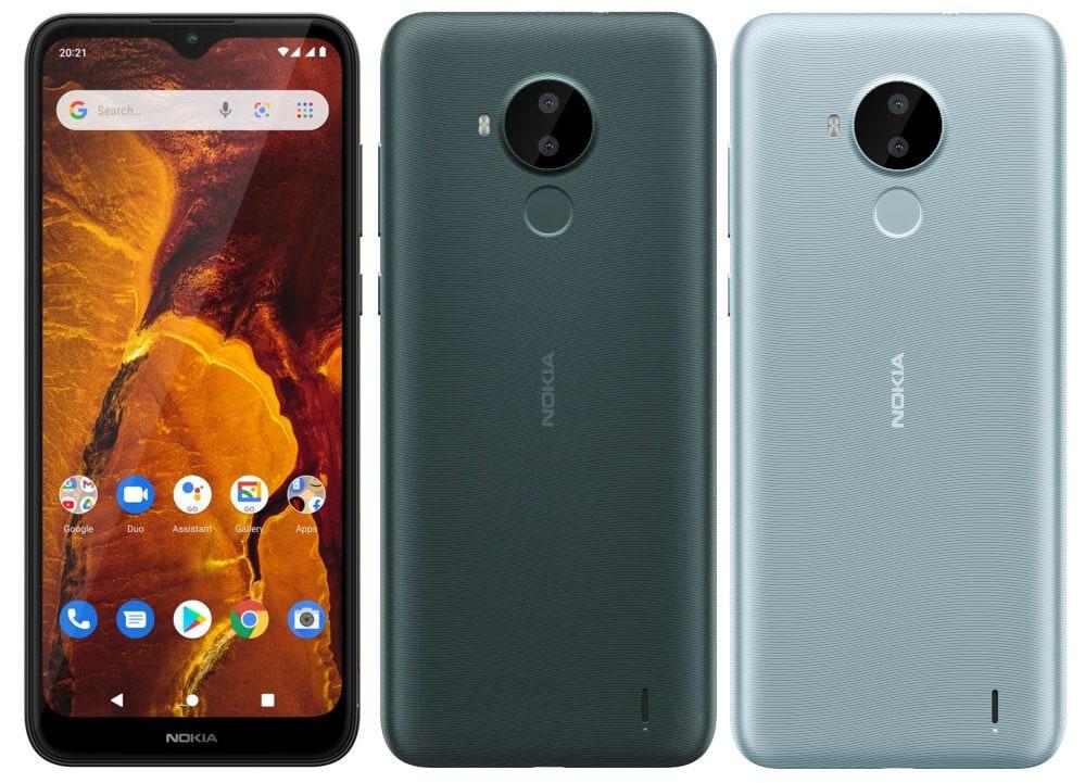 Представлен бюджетный смартфон Nokia C30 под управлением Android 11 Go Edition