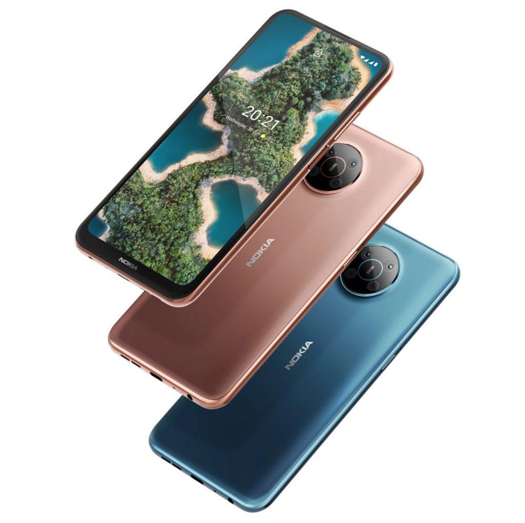 Представлены смартфоны Nokia X10 и Nokia X20 с поддержкой 5G и оптикой ZEISS