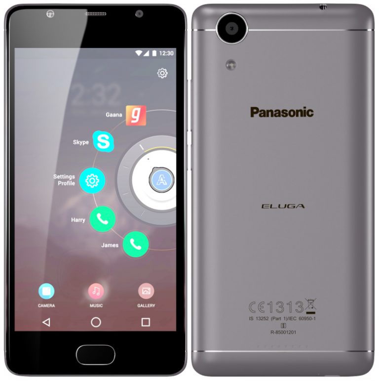 Panasonic выпустил два новых телефона P85 иEluga Ray