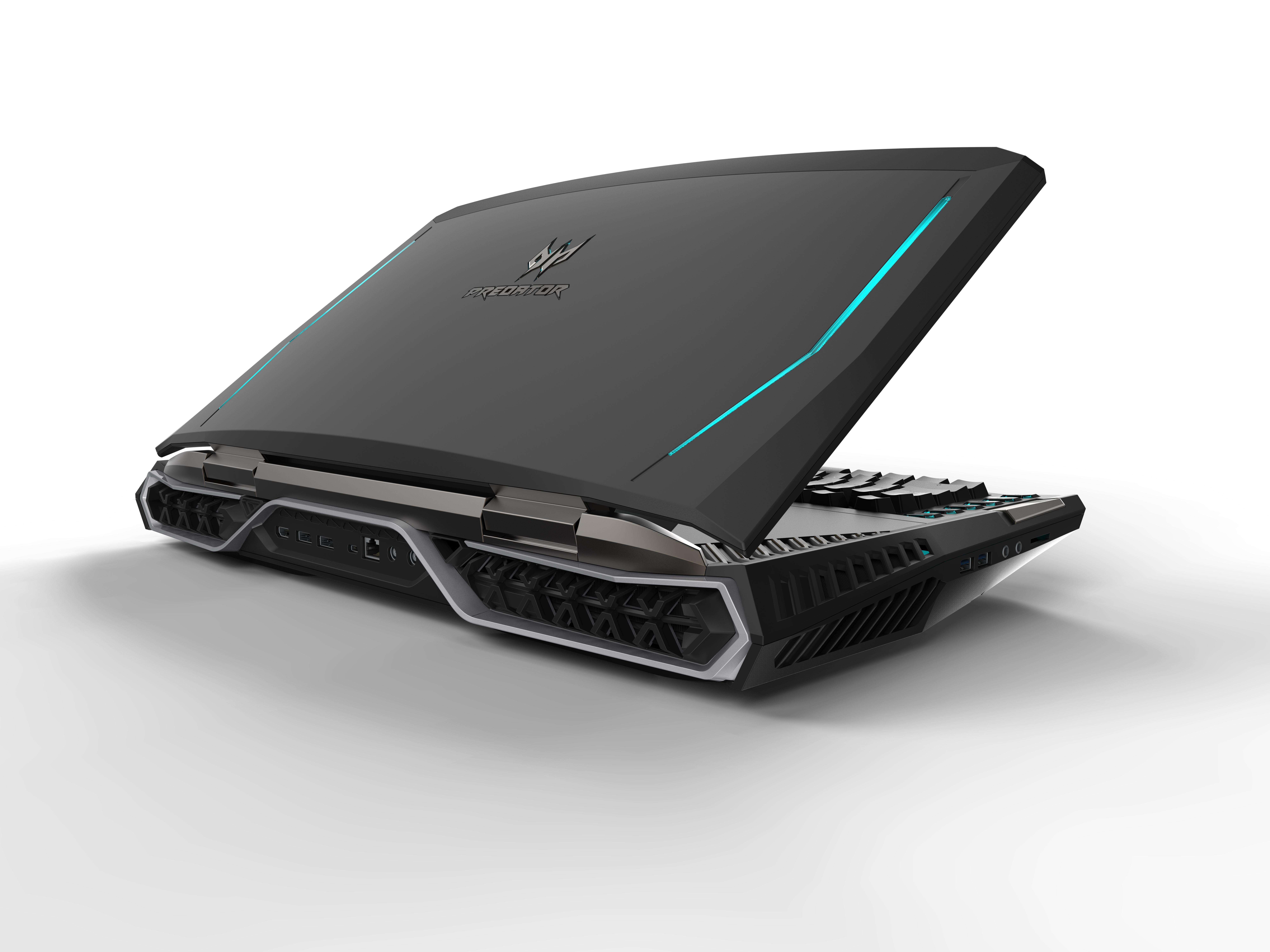 Acer показала чудовищный ноутбук с 2-мя GTX 1080