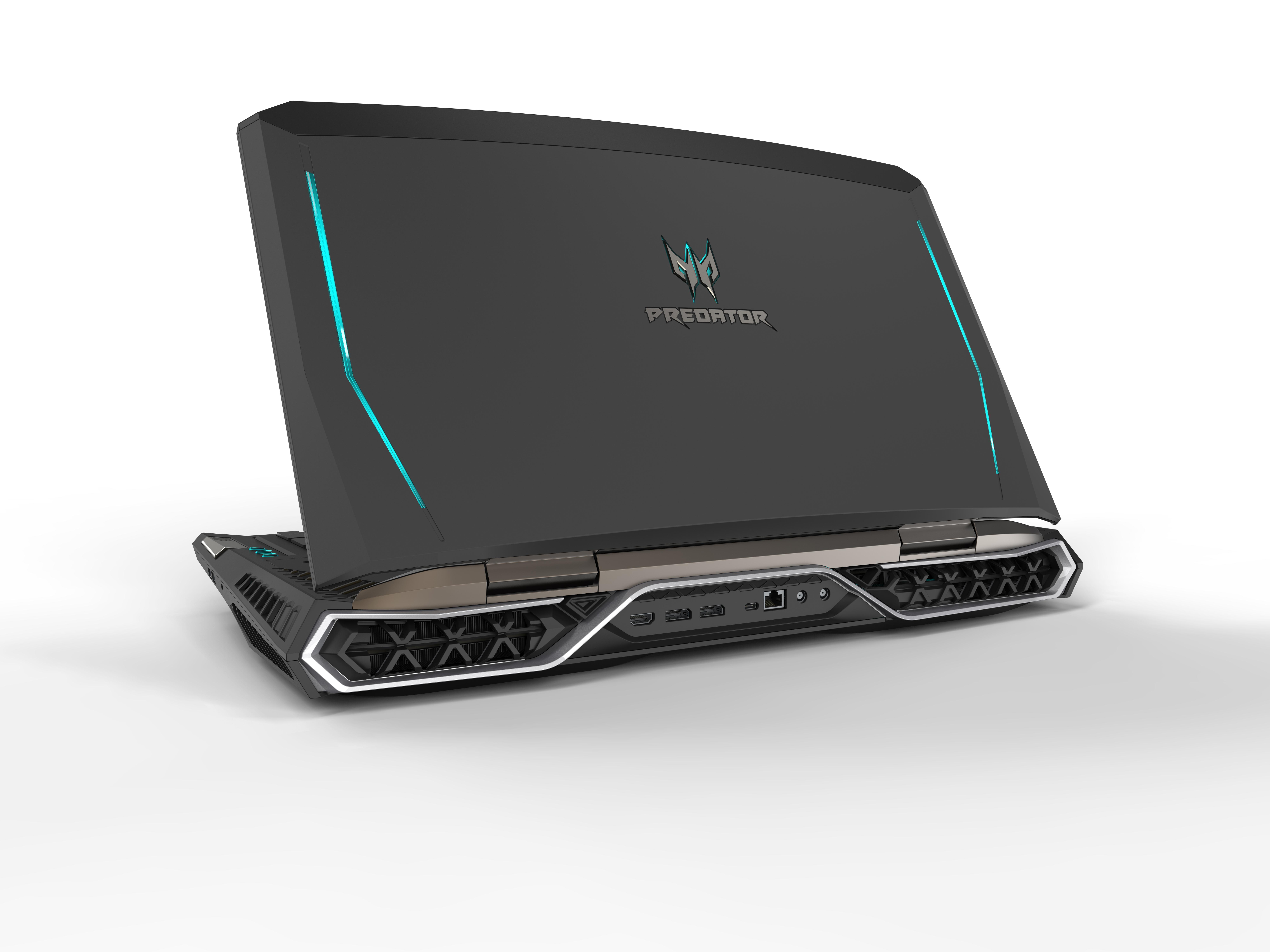 Представлен 1-ый вмире ноутбук сизогнутым экраном Acer Predator 21 X
