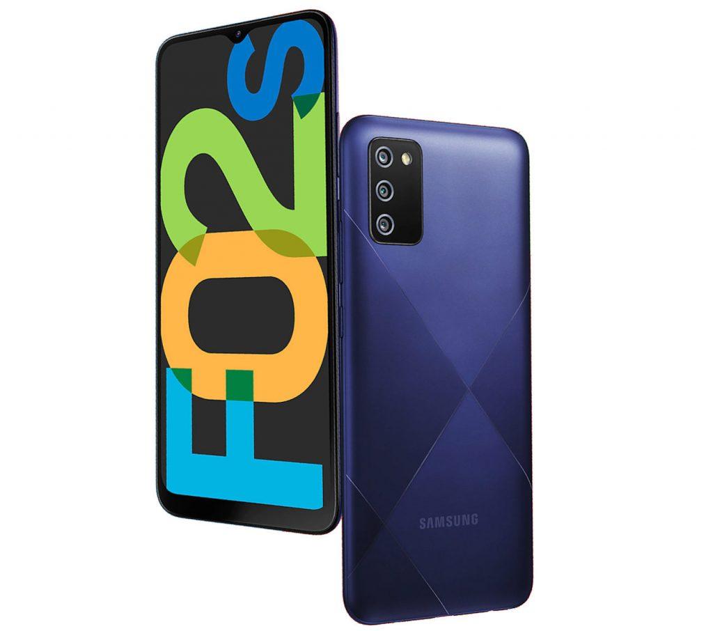 Представлены бюджетные смартфоны Samsung Galaxy F02s и Galaxy F12