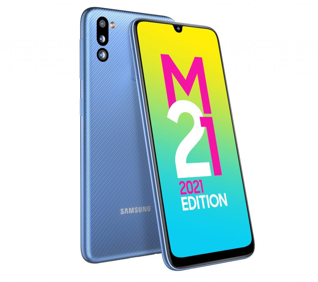 Samsung выпустила смартфон Galaxy M21 2021 Edition