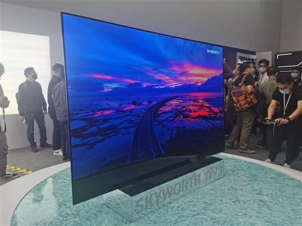 Skyworth представила 88-дюймовый OLED-телевизор с частотой 120 Гц, Dolby Vision и HDR10