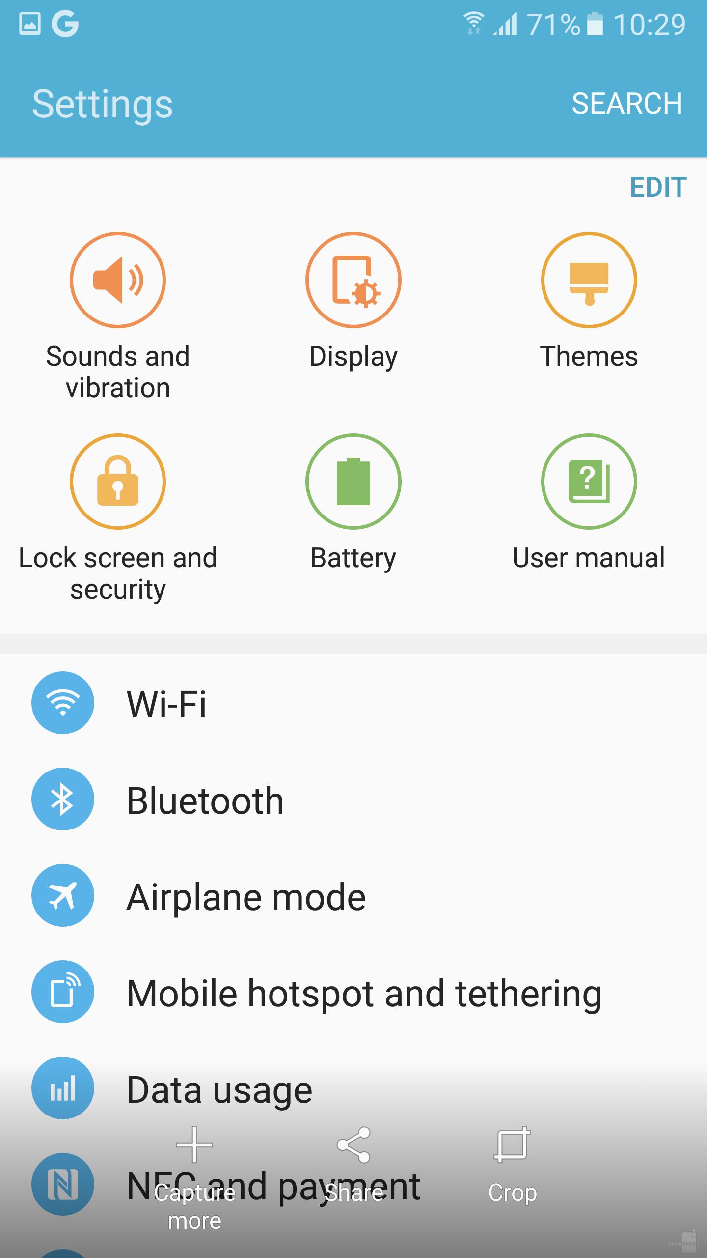 Как на android сделать скрин экрана