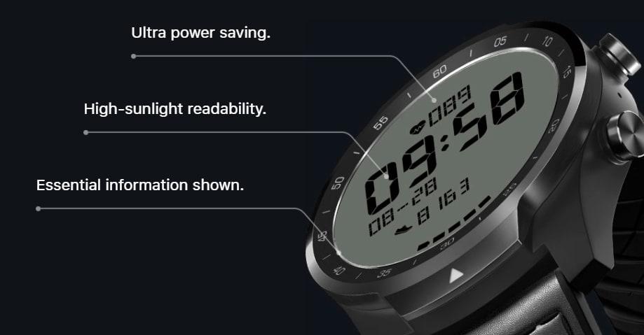 Представлены смарт-часы TicWatch Pro S  урезанная и более дешевая версия TicWatch Pro 3