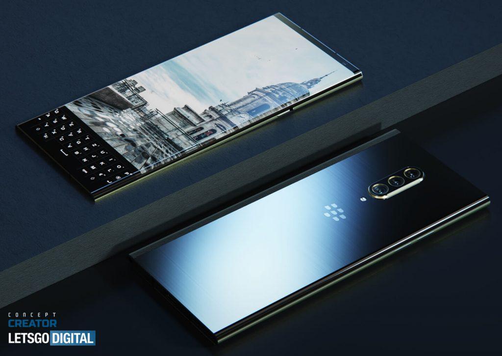 Опубликован концепт смартфона BlackBerry Key 3 5G