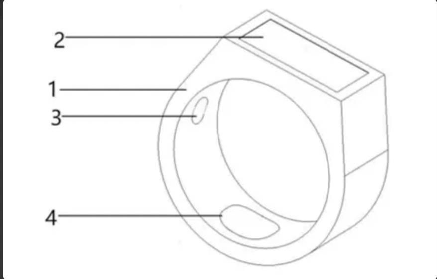 Vivo запатентовала смарт-кольцо, измеряющее вес пользователя