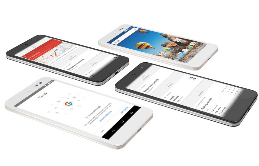 Представлен 1-ый смартфон с андроид 7.0 для программы андроид One