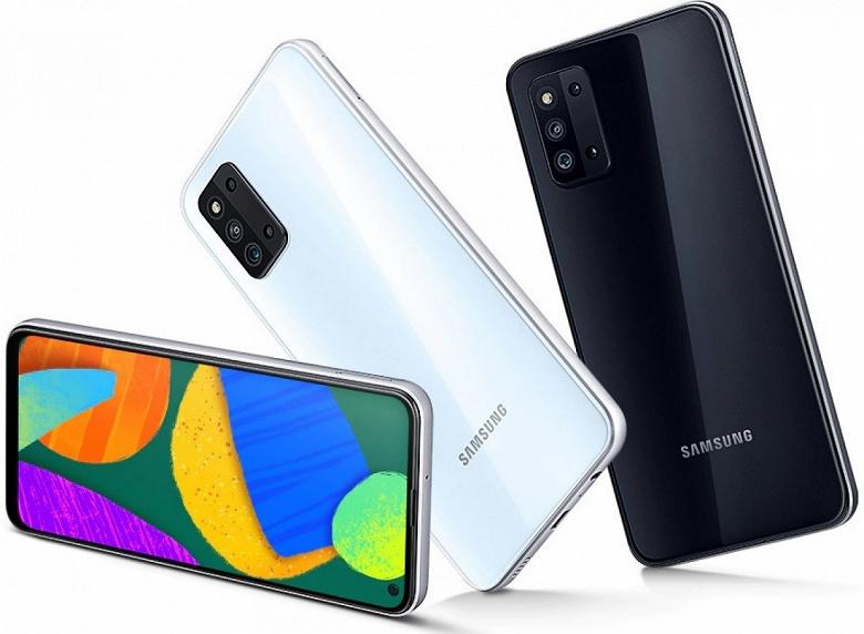 Представлен смартфон Samsung Galaxy F52 5G