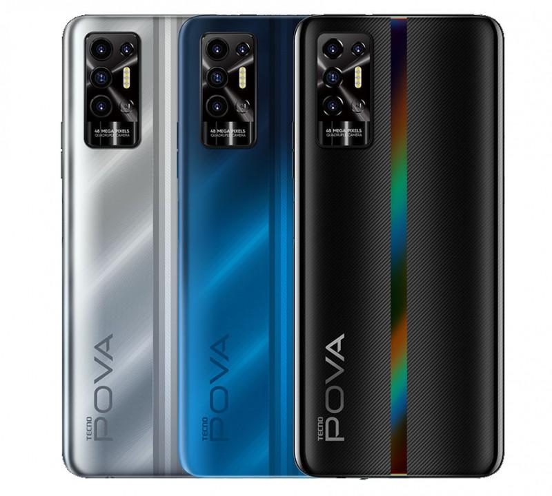 Официально представлен новый доступный смартфон Tecno Pova 2