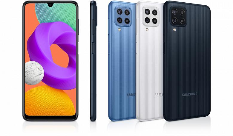 Представлен бюджетный смартфон Samsung Galaxy M22