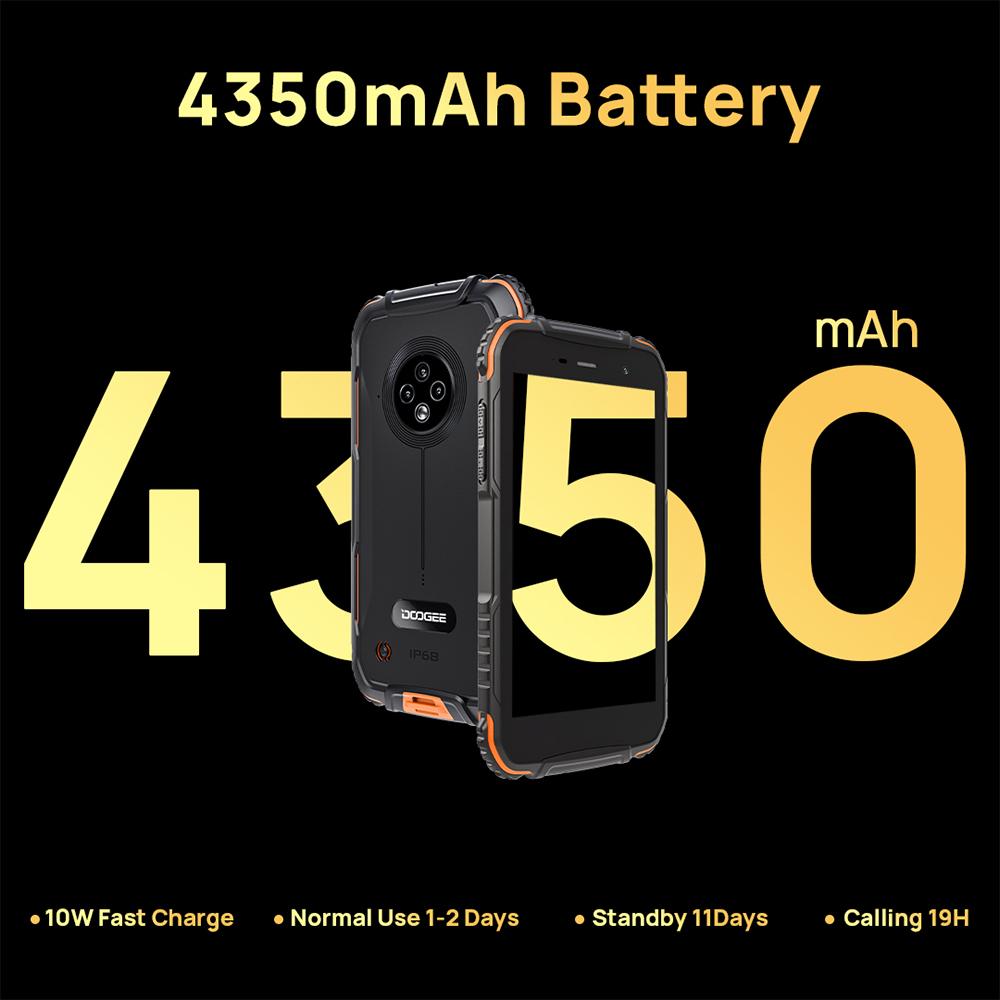Представлен защищенный бюджетный смартфон Doogee S35